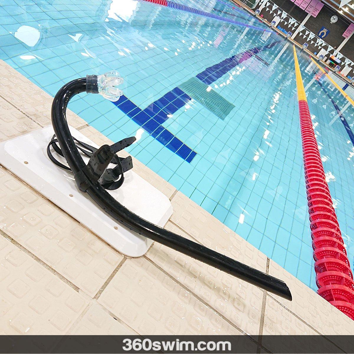 Simple small tube snorkel