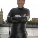 Swimming With Little Britain (David Walliams vs. Thames Swim Marathon)