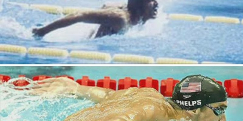The Ultimate Match Up - Michael Phelps Vs. Mark Spitz (How Has The Butterfly Stroke Changed Over The Years?) - Swimming Advice