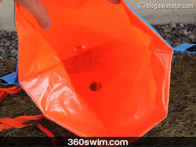 Dry bag feature