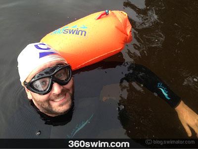 Me, SaferSwimmer float, and Aquaviz