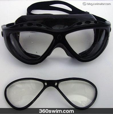 Detachable lenses