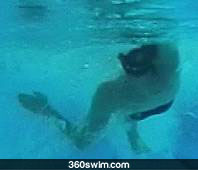 Backstroke underwater pull