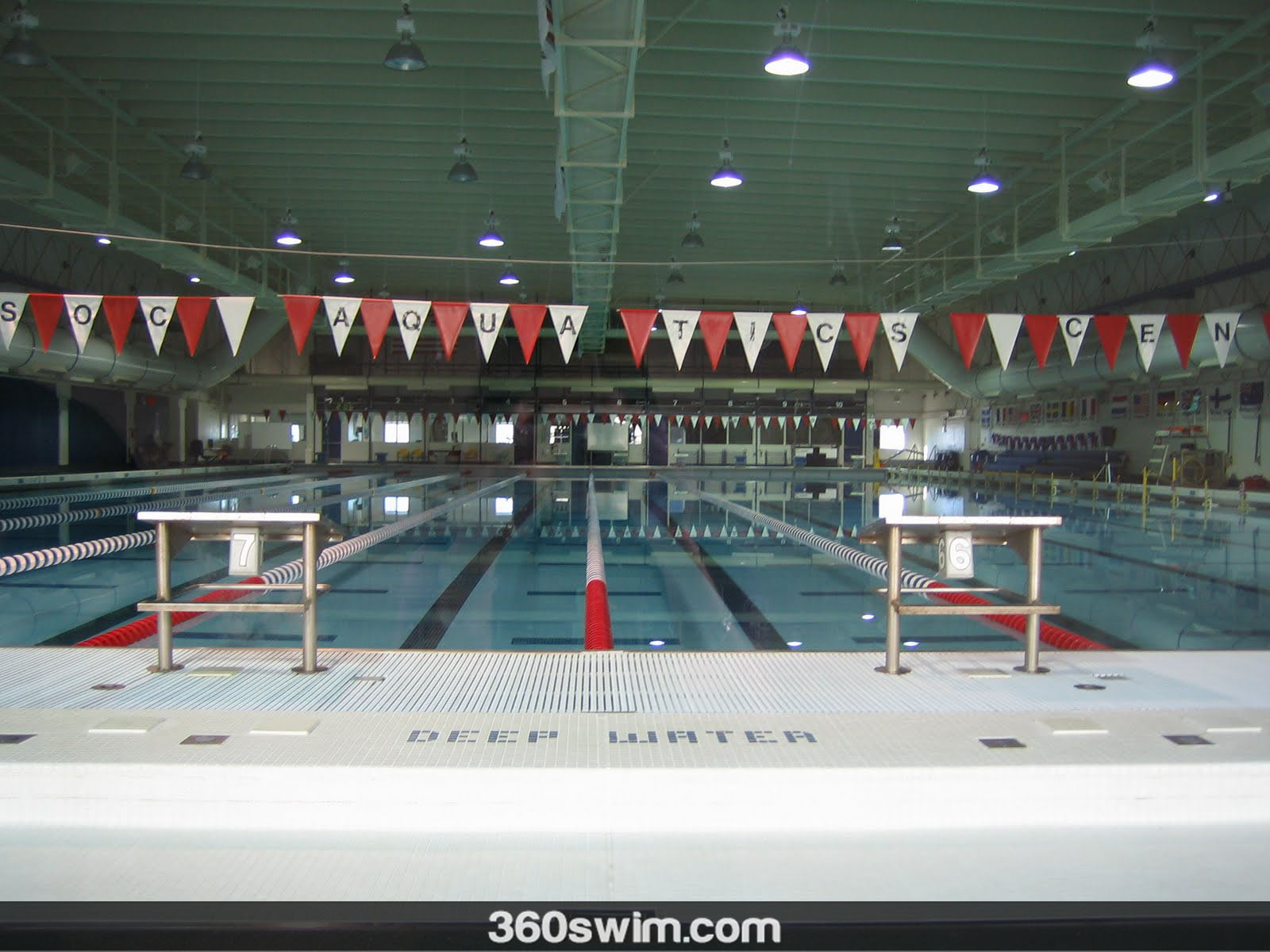 Swimming Pool at the Olympic Training Center, Colorado