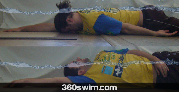 Learn to roll on your back