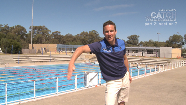 Paul Newsome explaining the importance of a high catch