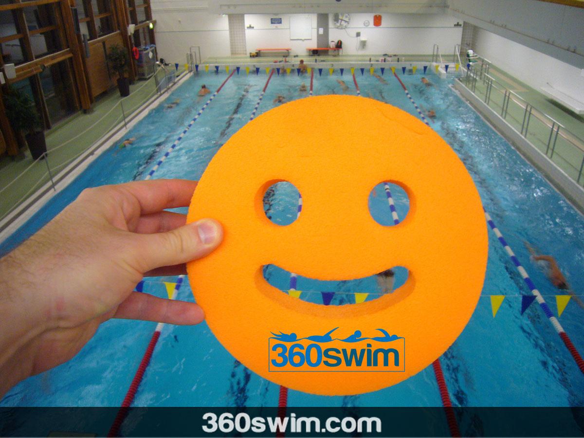 Swim practices are fun