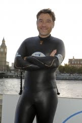David Walliams vs. Thames by sportrelief.com
