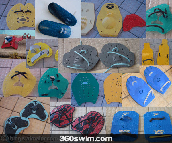 The confusing world of swimming hand paddles