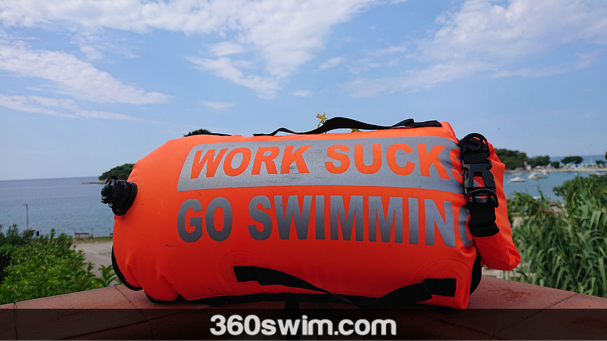 Work Sucks Go Swimming Safety Buoy